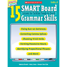 Scholastic 15 SMART Board Lessons For