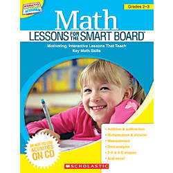 Scholastic Math Lessons For The SMART