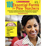 Scholastic 100 Essential Forms For New