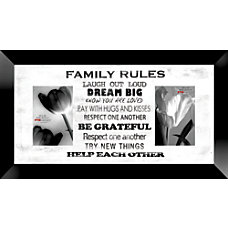 PTM Images Photo Frame Family Rules