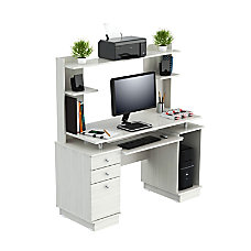 Inval Computer Work Center With Hutch
