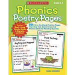 Scholastic Phonics Poetry Pages