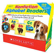 Scholastic Nonfiction Alphabet Readers