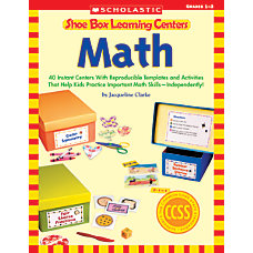 Scholastic Shoe Box Learning Centers Math