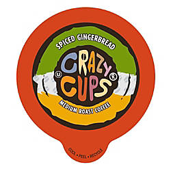 Crazy Cups Coffee Pods Spiced Gingerbread