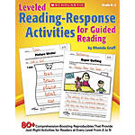 Scholastic Leveled Reading Response Activities For