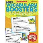 Scholastic Daily Vocabulary Boosters