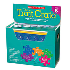 Scholastic The Trait Crate Grade 8