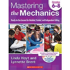 Scholastic Mastering The Mechanics For Grades