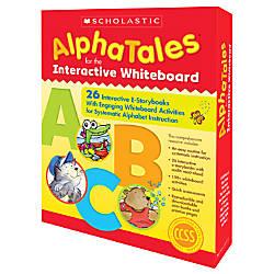 Scholastic AlphaTales Interactive E STorybooks