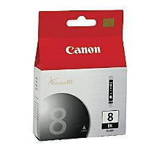 Canon CLI 8BK ChromaLife 100 Black