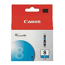 Canon CLI 8C ChromaLife 100 Cyan