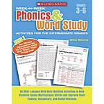 Scholastic Week by Week Phonics Word