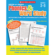 Scholastic Week by Week Phonics Word