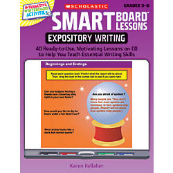 Scholastic SMART Board Lessons Expository Writing