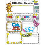 Scholastic Personal Poster Set My Name