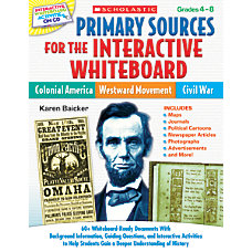 Scholastic Primary Sources For The Interactive