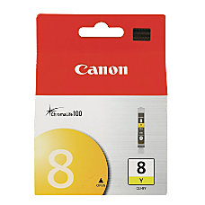 Canon CLI 8Y ChromaLife 100 Yellow