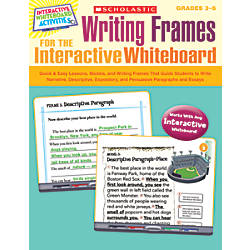 Scholastic Writing Frames For The Interactive
