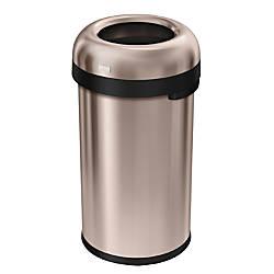 simplehuman Bullet Open Trash Can 16