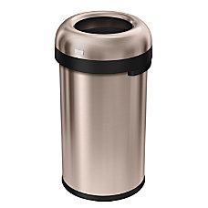 simplehuman Bullet Open Trash Can 16