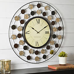 FirsTime Shasta Wire Wall Clock 20