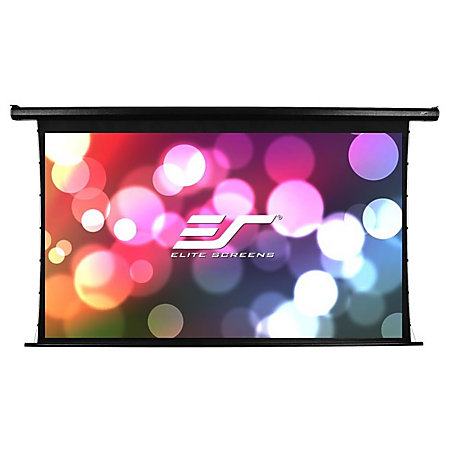 Elite screens electric100ht spectrum tab tension for Tab tensioned motorized projection screen