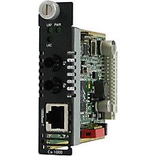 Perle CM 1000 S2ST10 Gigabit Ethernet