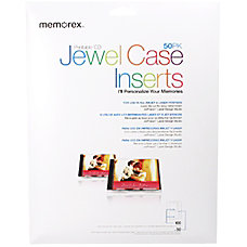 Imation Jewel Case Insert