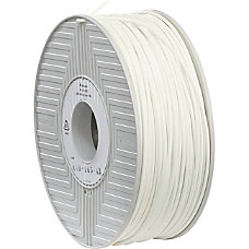 Verbatim 3D Printer ABS Filament White