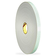 3M Double Coated Urethane Foam Tape