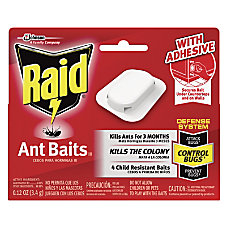 Raid Ant Baits Pack Of 4