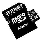 Patriot Memory 8GB microSDHC Class 10