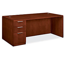 HON Arrive Left Pedestal Desk 29