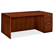 HON Arrive Right Pedestal Desk 29