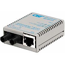 miConverterS 10100 Ethernet Fiber Media Converter