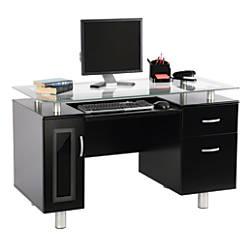 Realspace Sutton Executive Desk Black