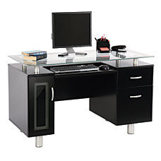 Realspace Sutton Executive Desk 30 H