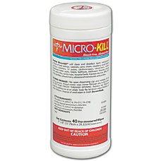 Micro Kill Disinfectant Wipes Scented 7