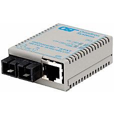 miConverterS 101001000 Ethernet Fiber Media Converter