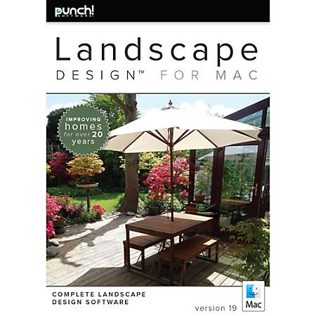 Punch landscape design for mac v19 download version by for Punch home landscape design for mac