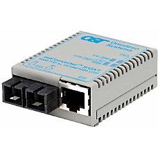 miConverterS 101001000 Gigabit Ethernet Fiber Media