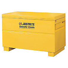 Justrite SafeSite Steel Tool Storage Chest