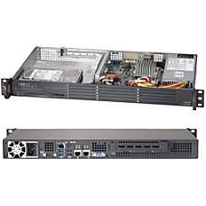 Supermicro SuperServer 5017A EF 1U Rack