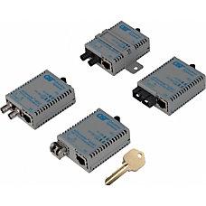 Omnitron miConverterS 101001000 Gigabit Ethernet Fiber