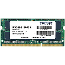 Patriot Memory DDR3 8GB PC3 12800