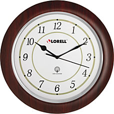 Lorell Radio Control Wall Clock Analog