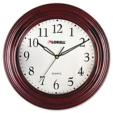 Lorell Wall Clock Quartz