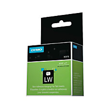 DYMO Hanging File Folder Labels 056