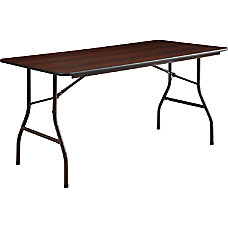 Lorell Laminate Economy Folding Table 30
